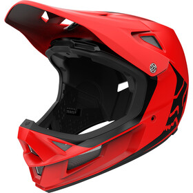 Fox Rampage Comp Infinite Helm Herren bright red